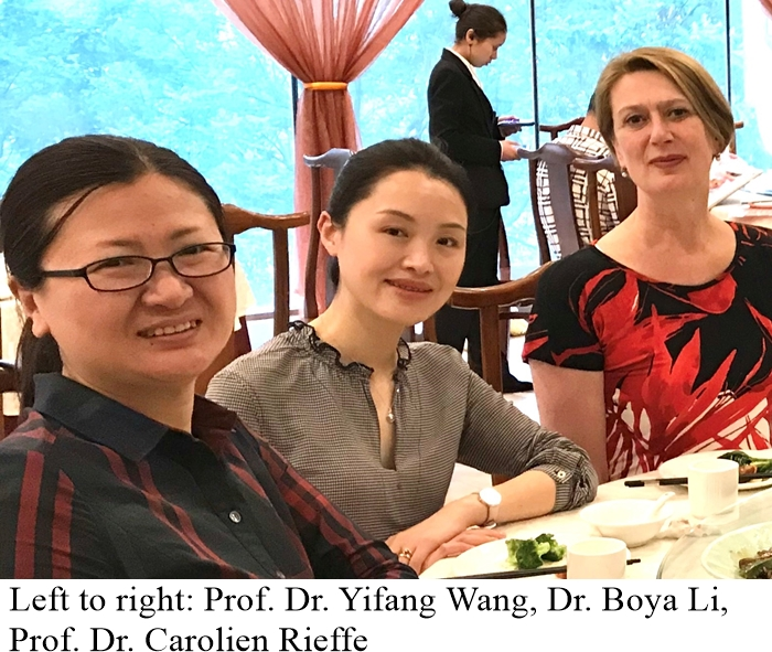 China visit Prof. Wang new